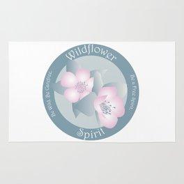 Wildflower Spirit - Boho Breeze Rug