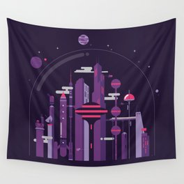 World of Tomorrow Wall Tapestry