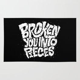 Broken You Into Pieces Rug