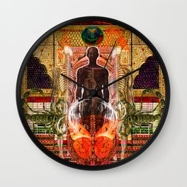 Solar Spirit Awakening Wall Clock