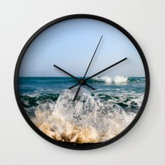 Wave Bubble Splash Wall Clock