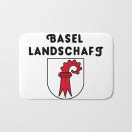 Canton of Basel-Landschaft Bath Mat