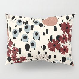 Cheetah Floral Pillow Sham