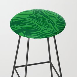 Shape Study: Emerald Bar Stool