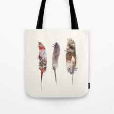 peace feathers Tote Bag