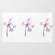 Flowers of the tree *Handroanthus sp* Rug