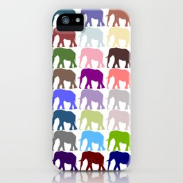 Colorful Herd iPhone Case