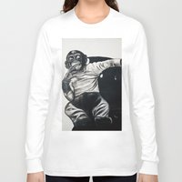 gangster Long Sleeve T-shirts featuring Original Gangster by Esau Rodriguez Art
