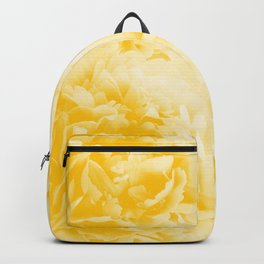 Yellow Peonies Dream #1 #floral #decor #art #society6 Backpack