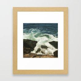 Camden Hills State Park Framed Art Print