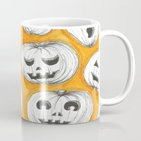 pumpkin Mugs featuring Pumpkin by Saoirse Mc Dermott