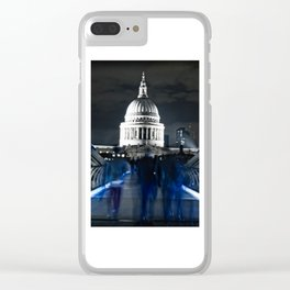 Ghosts of St Paul's Clear iPhone Case