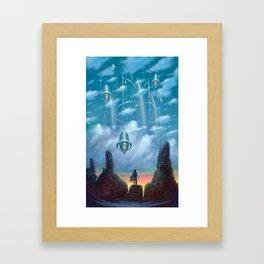 The Vault of Heaven Framed Art Print