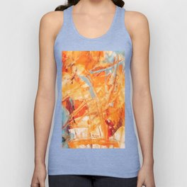 Abstract H1 Unisex Tank Top