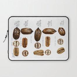 Nuts - Fruit Illustration Laptop Sleeve
