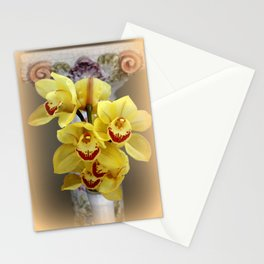 On...In Front Of...A Pedestal Stationery Cards