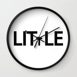 Little being little Wall Clock