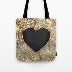 Gold Heart-79 Tote Bag