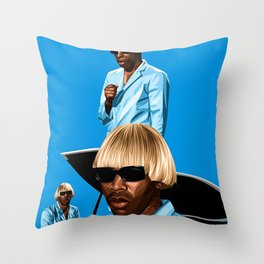 Tyler The Creator Throw Pillow