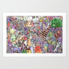 collective ink, VeinEye edition Art Print