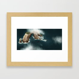 Ocean Flight Framed Art Print