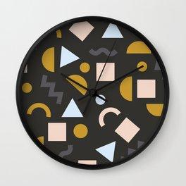 Memphis Mamba Wall Clock