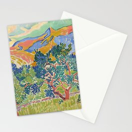 Good Mountain by Henri Matisse Stationery Cards