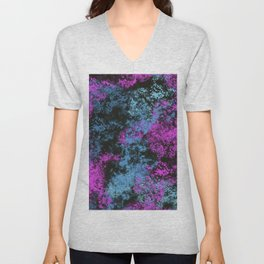 Abstract 31 Unisex V-Neck