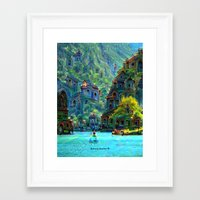 peru Framed Art Prints featuring Ceti Peru by Bunny Clarke