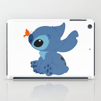 lilo and stitch iPad Cases featuring Stitch by Alexbookpages
