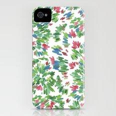 Stephanie iPhone (4, 4s) Slim Case