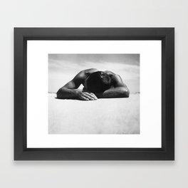 Sunbaker by Max Dupain, 1937 - Australian Photographer Framed Art Print