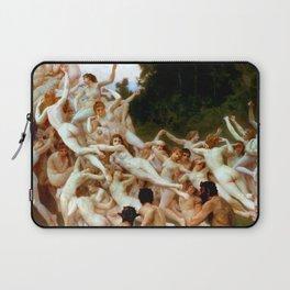 "William-Adolphe Bouguereau ""Les Oréades (The Oreads)"" Laptop Sleeve"