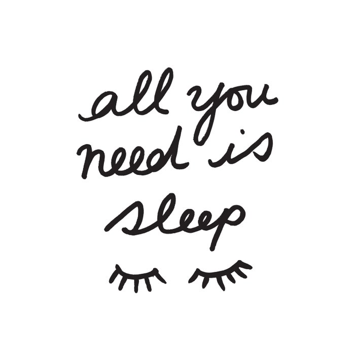 All You Need Is Sleep Duvet Cover
