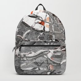 Basketball Artwork Backstreet Backpack
