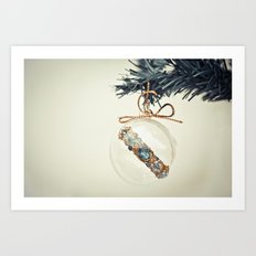 Christmas wish Art Print