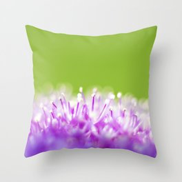 Pompoms Throw Pillow