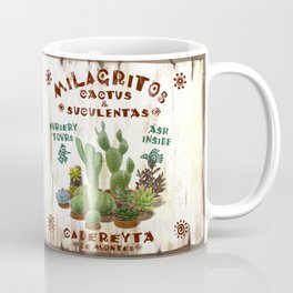 Milagritos Cacti and Succulents Nursery Coffee Mug
