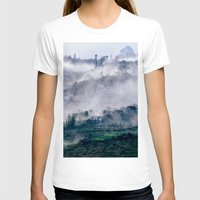 vietnam T-shirts featuring Foggy Mountain of Sa Pa in VIETNAM by CAPTAINSILVA