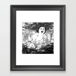 asc 512 - La noyade (The drowning) Framed Art Print