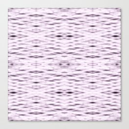 Pink Zigzag Pattern Canvas Print