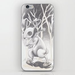 Renegade Rabbit iPhone Skin