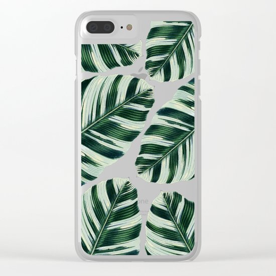 Tropical Foliage #society6 #buyart #decor Clear iPhone Case