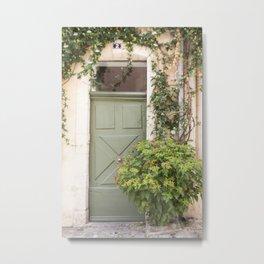 Doorway in France Metal Print