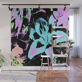 Lilly illustion Wall Mural