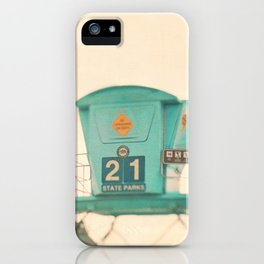 Lifeguard station. No. 21 iPhone Case