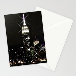 Empire Sparkle Building Stationery Cards