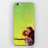 korrasami iPhone & iPod Skins featuring New Adventure Awaits by Anne M