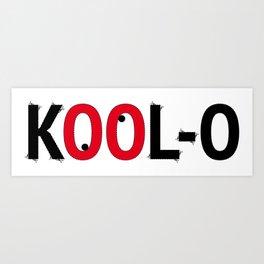Kool-O Art Print