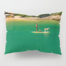 Beach in Buzios, Rio de Janeiro (Brasil) Pillow Sham